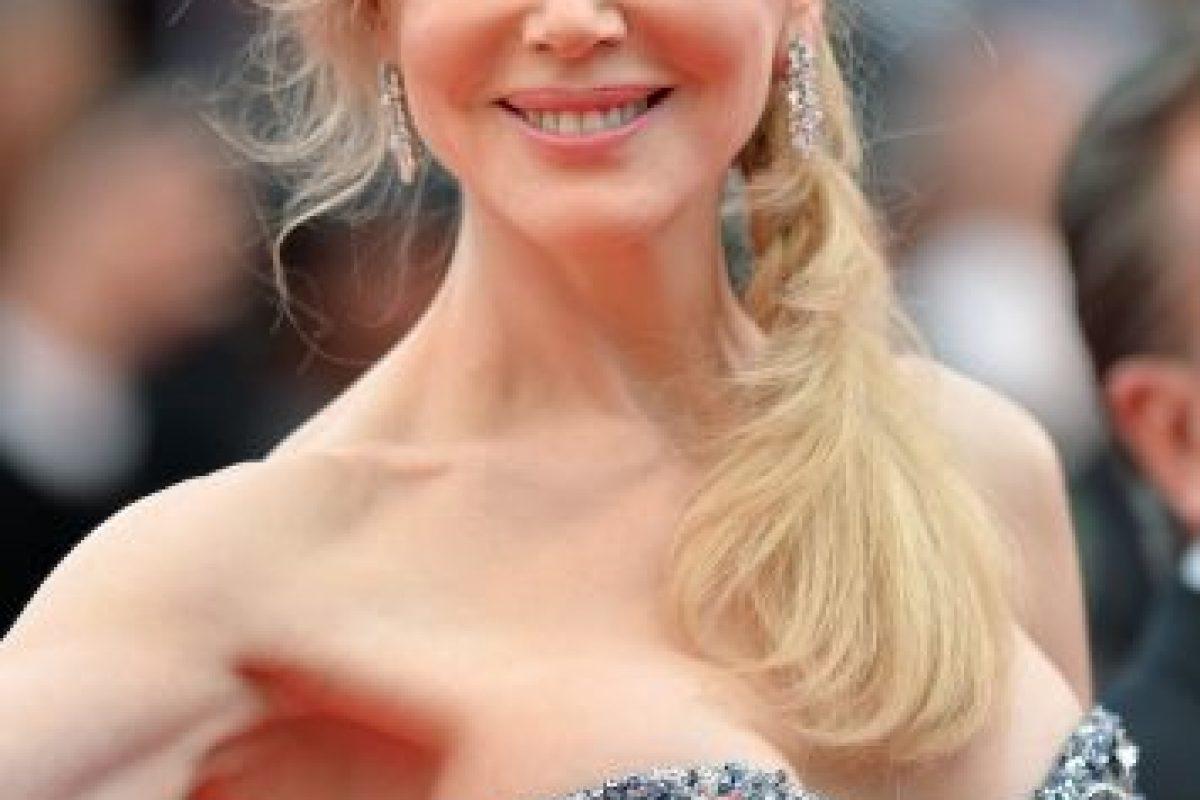 """La actriz con piel de porcelana lució un rostro totalmente diferente en la película """"Las Horas"""". Foto:Getty Images. Imagen Por:"""