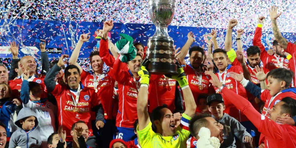 Tribuna Campeones de América: el homenaje de Chile a la Roja en el Estadio Nacional