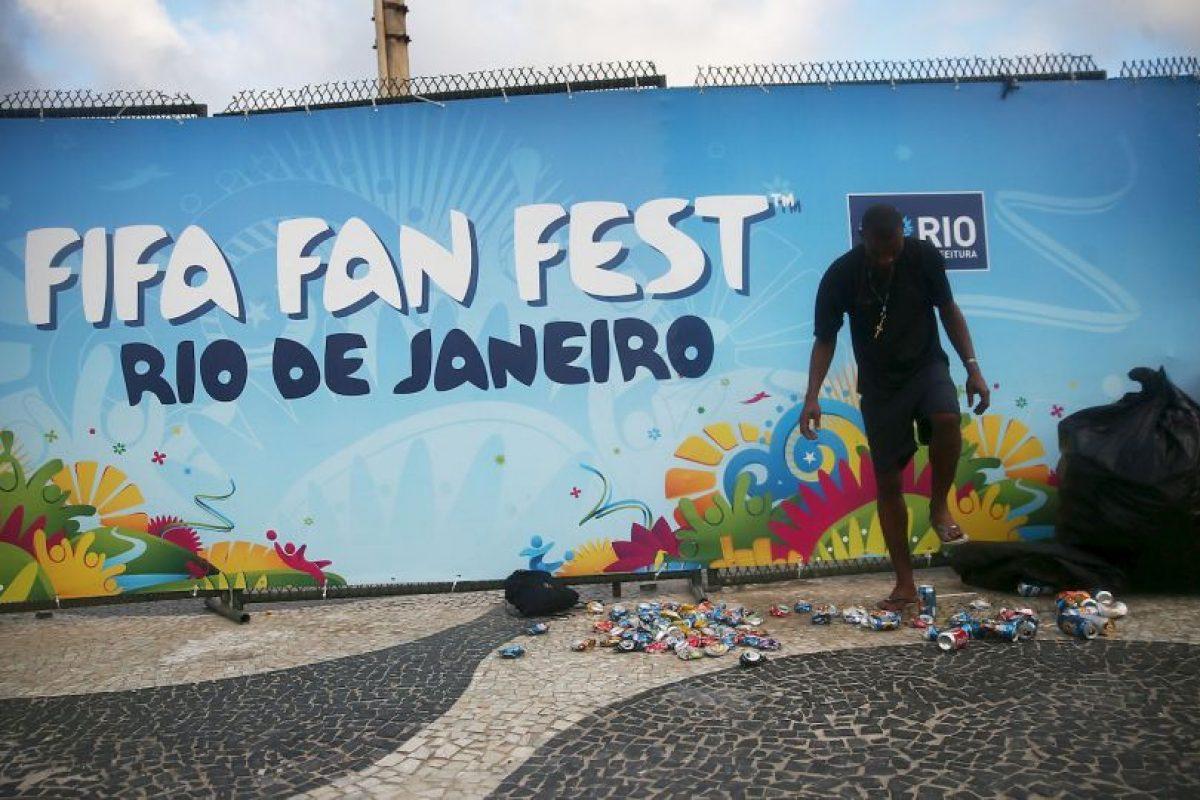 """3. 18 millones de dólares para los """"Fan Fest"""" en la pasada Copa del Mundo Foto:Getty Images. Imagen Por:"""