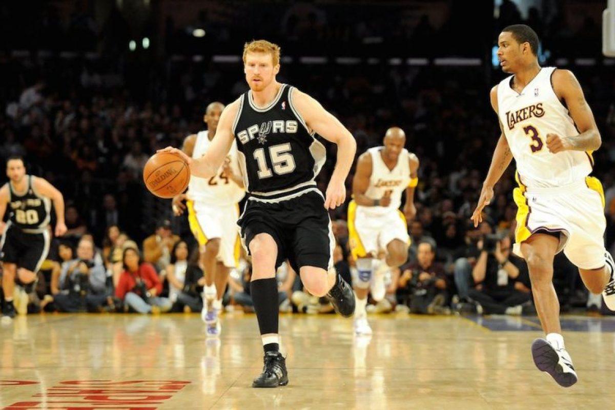 Bonner forma parte de los Spurs de San Antonio de la NBA. Foto:Getty Images. Imagen Por: