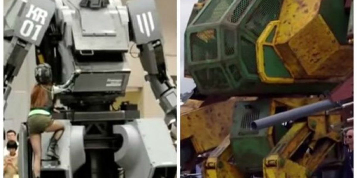 Duelo de titanes entre robots de Japón y EEUU