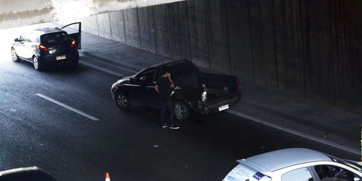 Hombre fallece tras ser atropellado en Autopista Central