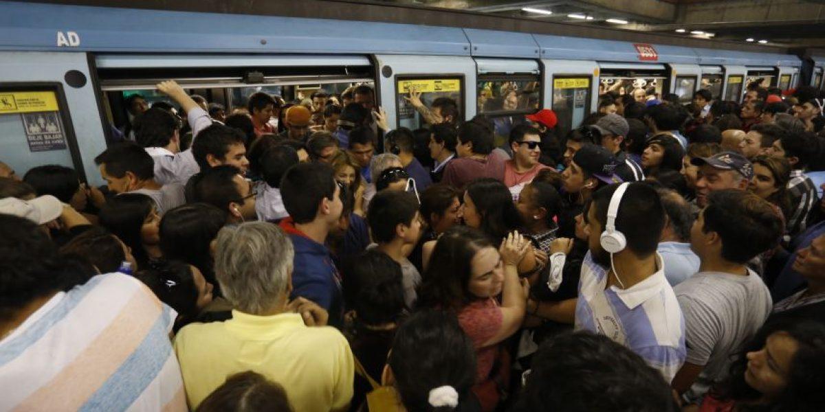 Fallas del Metro bajaron 42% durante primeros meses del 2015