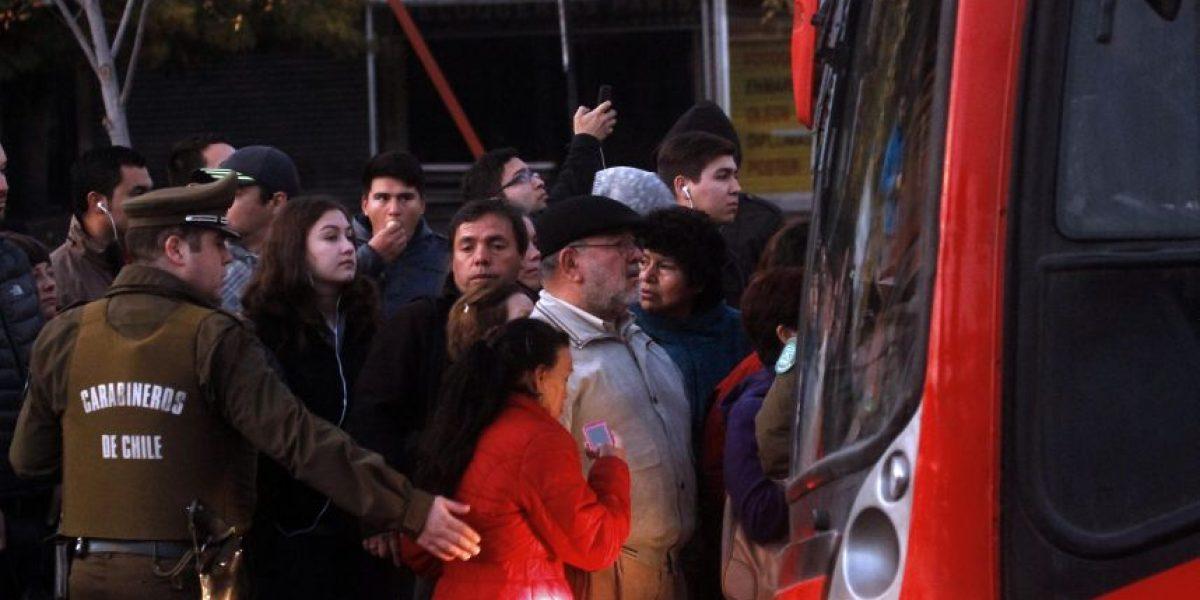 Transantiago: choferes de recorridos 100 suspenden huelga