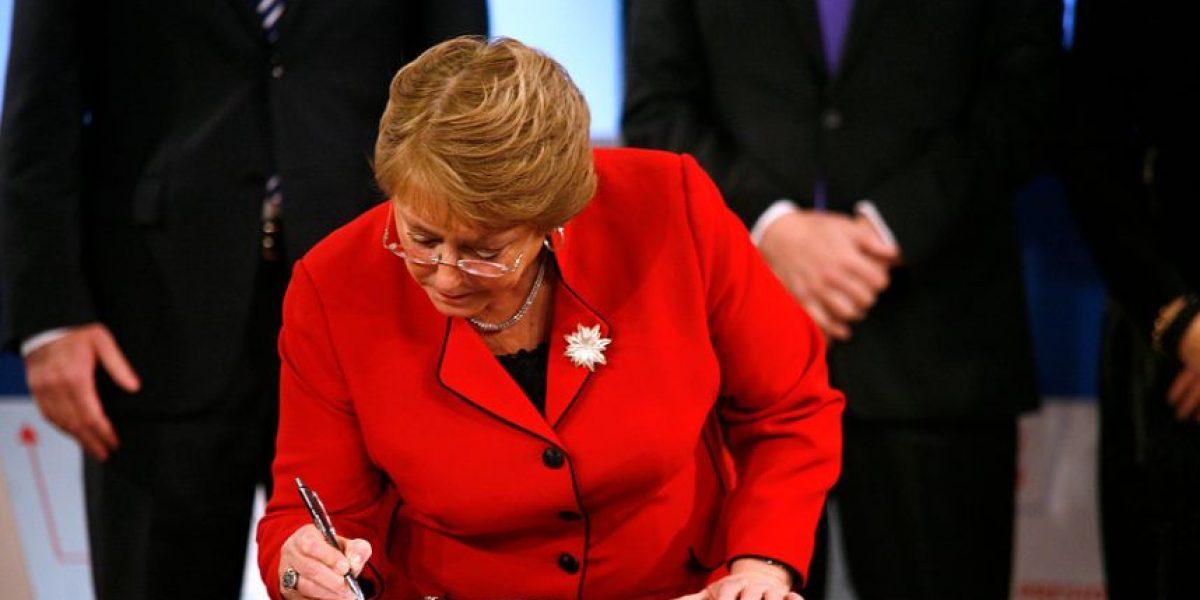 La carta de Bachelet al Colegio de Profesores