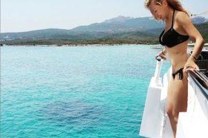 Así luce Thalía a sus 43 años en un diminuto bikini. Foto:Instagram/Thalia. Imagen Por:
