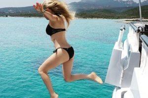 La cantante presumió sus vacaciones de verano en Italia Foto:Instagram/Thalia. Imagen Por:
