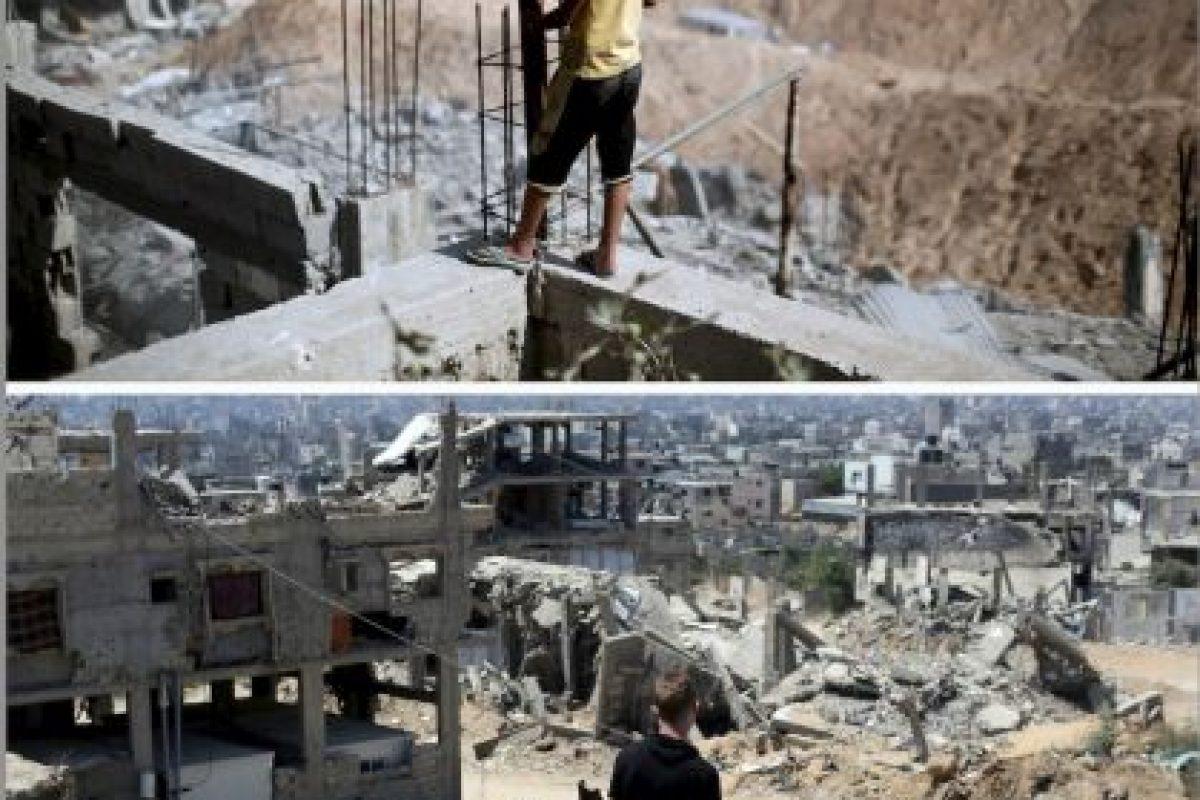 Imagen tomada en el barrio de al-Tufah Foto:AFP. Imagen Por: