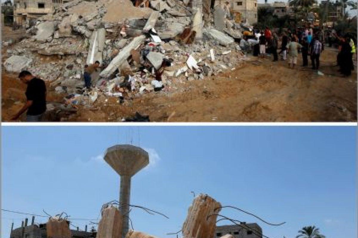 En el sur de Gaza, en la casa de la familia Duheir Foto:AFP. Imagen Por: