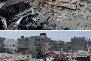 Imagen tomada en Rafah Foto:AFP. Imagen Por: