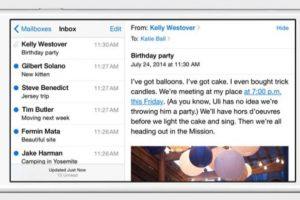 Sistema operativo: iOS 8. Foto:Apple. Imagen Por: