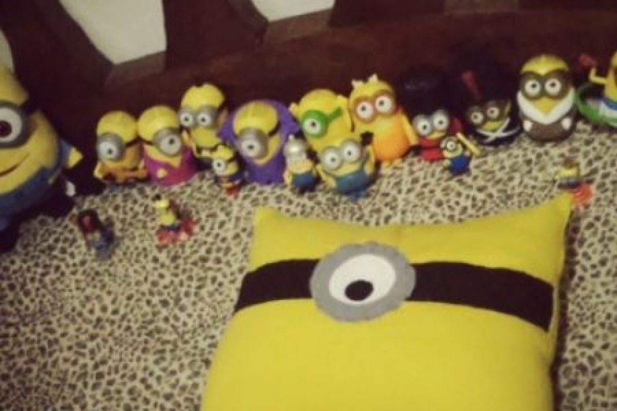 """12.- Toda una colección de """"Minions"""" Foto:vía instagram.com/masincaruk. Imagen Por:"""