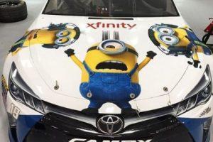 """19.- Este auto con mucha actitud """"Minion"""" Foto:vía instagram.com/kris10elkins. Imagen Por:"""