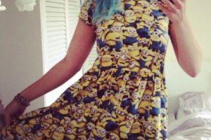 """21.- Un vestido muy coqueto con todo un ejército """"Minion"""" Foto:vía nstagram.com/noveltycharacters. Imagen Por:"""
