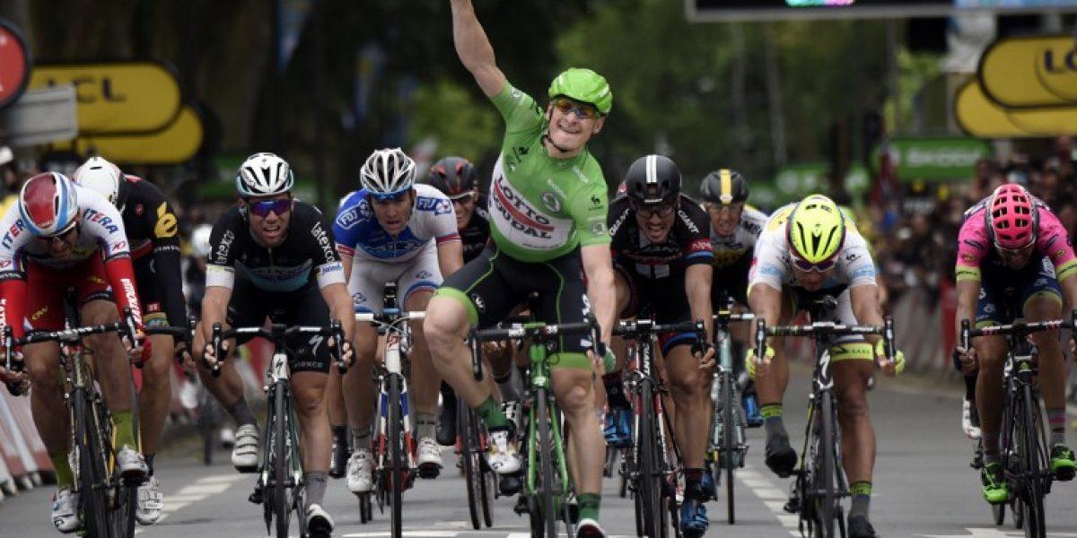 Tour de Francia: Greipel gana en el sprint y Tony Martin sigue de líder