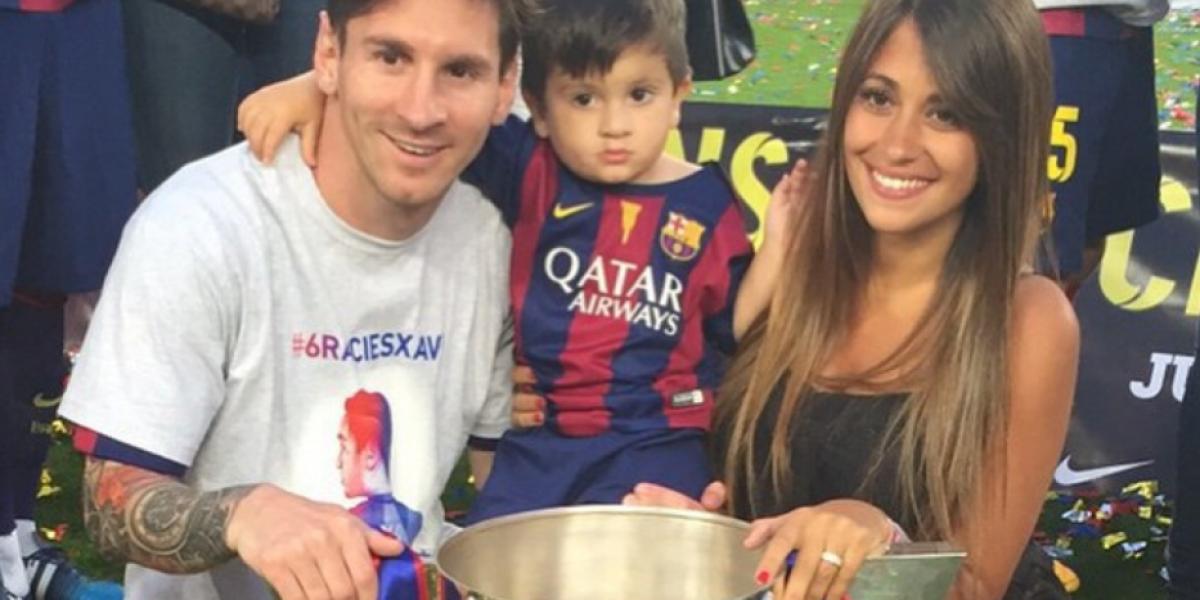 Esto dice el parte médico de Antonella Roccuzzo, pareja de Lionel Messi