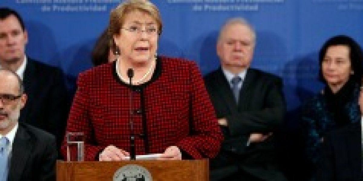 Presidenta presenta comisión asesora de productividad con el objetivo de retomar el crecimiento