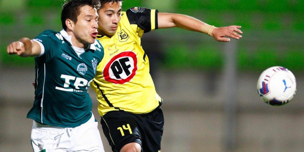 Santiago Wanderers sólo igualó ante San Luis en Valparaíso