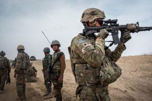 """La primera operación militar de un """"drone"""" estadounidense, en Afganistán. Foto:Getty Images. Imagen Por:"""