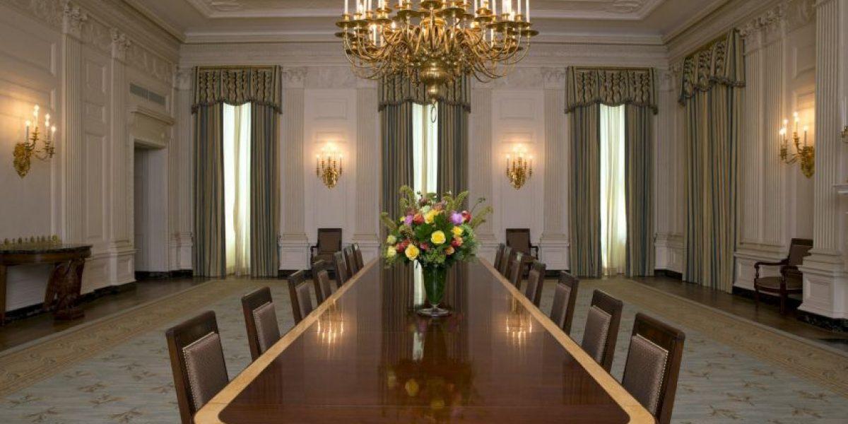 FOTOS: ¿Cuánto cuesta su comedor? El de los Obama vale 600 mil dólares