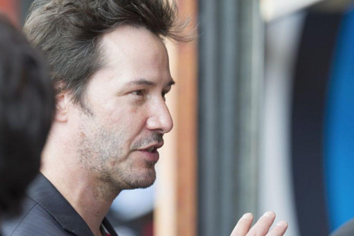 """Keanu Reeves casi convence al público en """"El Abogado del Diablo"""" y en """"Matrix"""". Foto:vía Getty Images. Imagen Por:"""