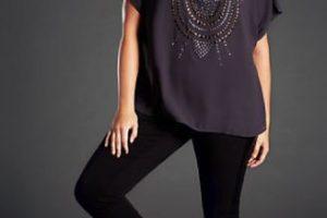 Con una blusa oversize. Foto:vía Pinterest. Imagen Por: