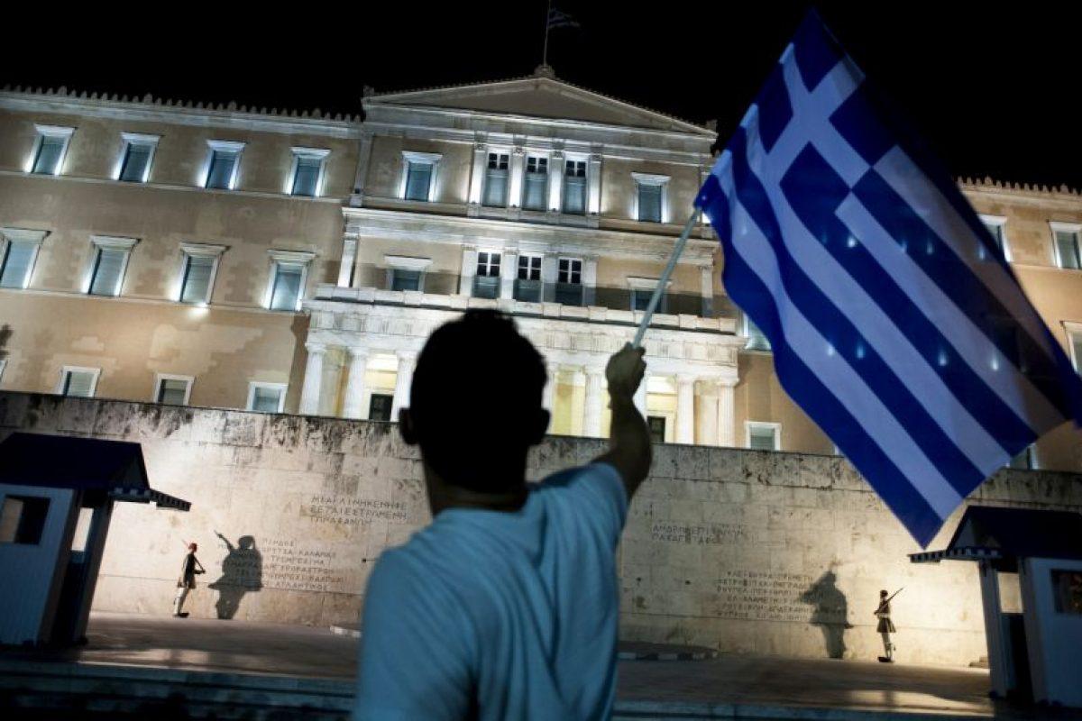Campaña de solidaridad con Grecia Foto:AFP. Imagen Por: