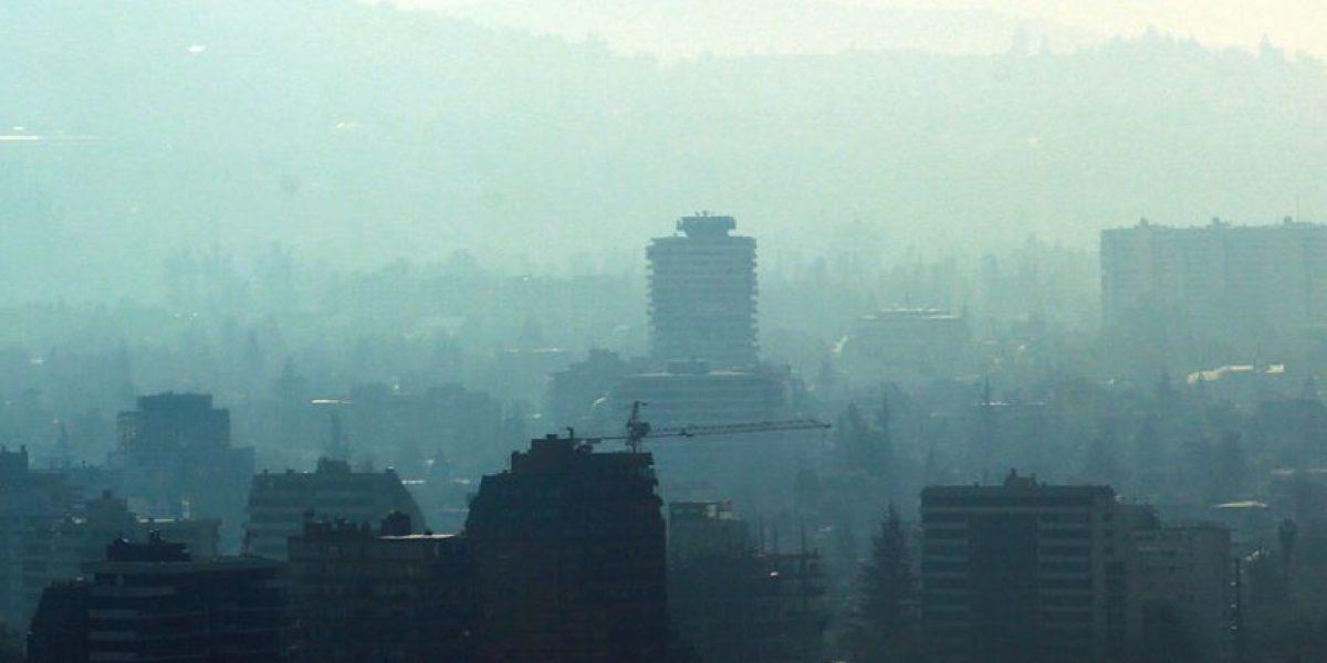 Decretan alerta ambiental para la capital este jueves