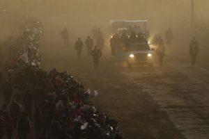 Por cuestiones de la altura del país, solamente estuvo unas horas en La Paz. Foto:AP. Imagen Por: