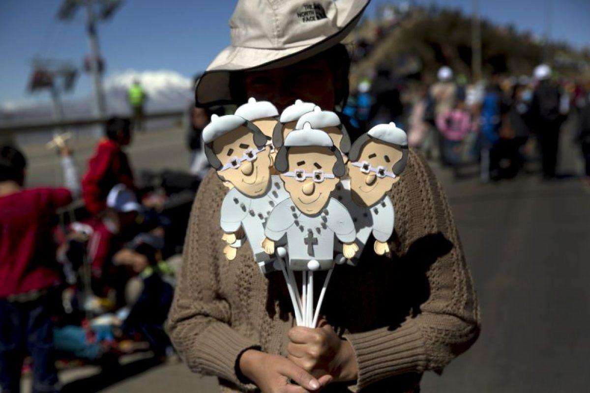 También tendrá un encuentro con religiosos en el colegio Don Bosco Foto:AP. Imagen Por: