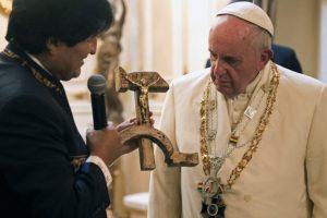 Y se reunió con Evo Morales, presidente del país Foto:AP. Imagen Por: