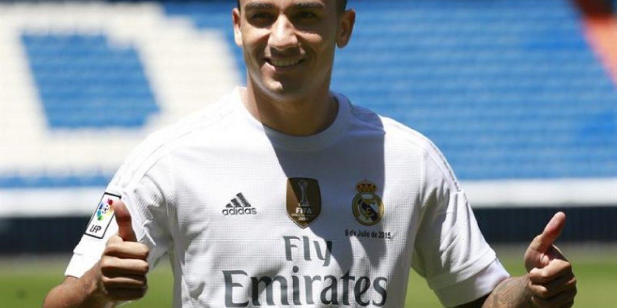 No era para Vidal: Danilo fue presentado con la 23 en el Real Madrid