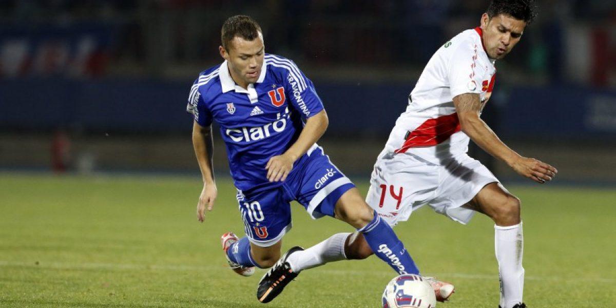 La U sufrió y de forma agónica venció a Curicó Unido por Copa Chile
