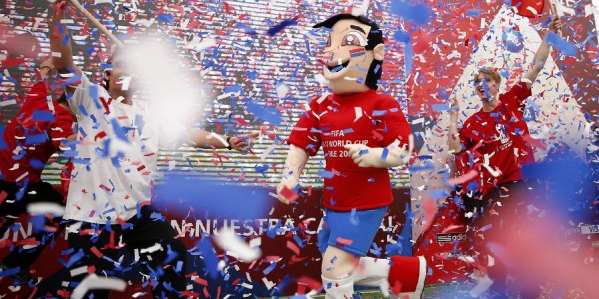 Brochico, la mascota que representará a Chile en el Mundial Sub 17