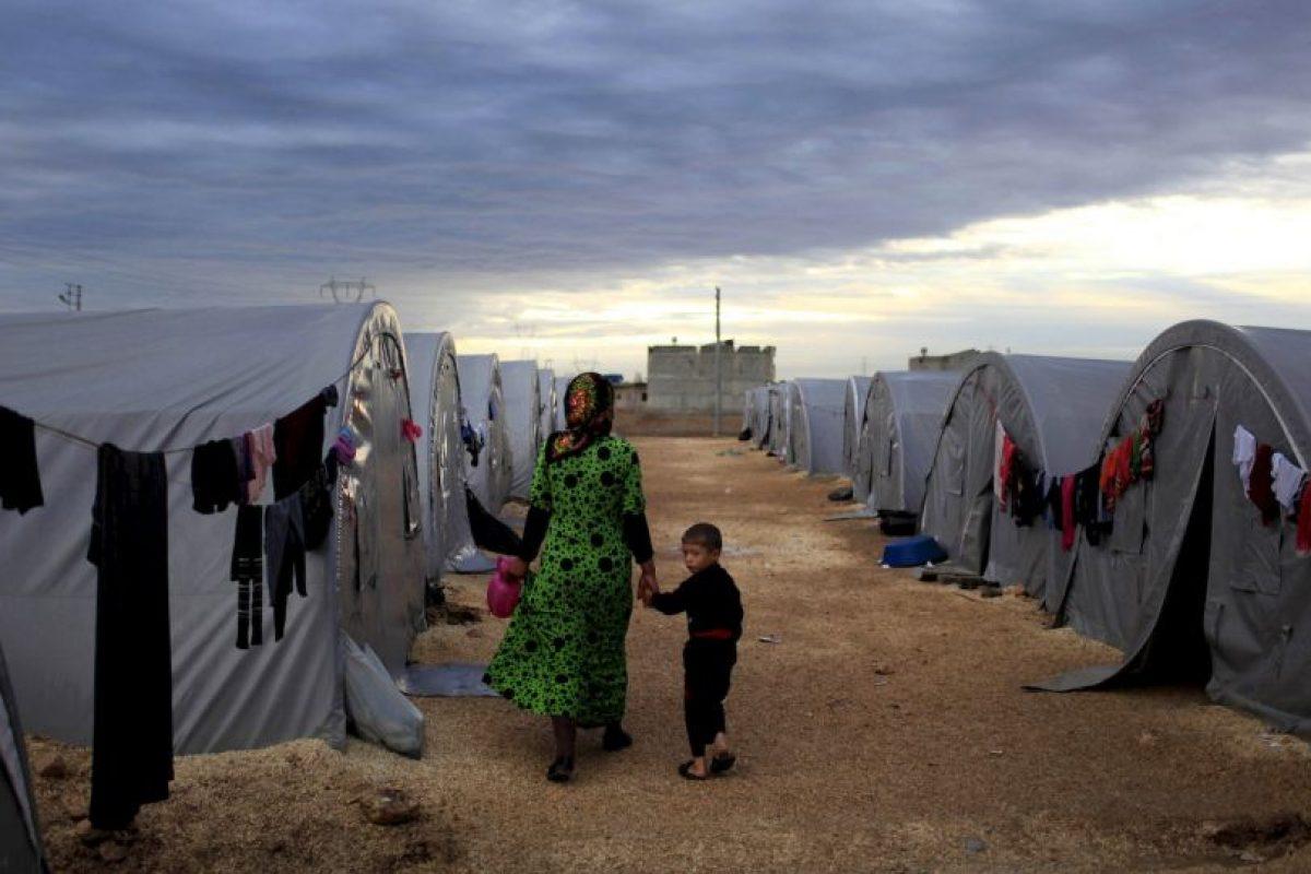 2. Según la ACNUR, 249 mil 726 está en Irak. Foto:Getty Images. Imagen Por: