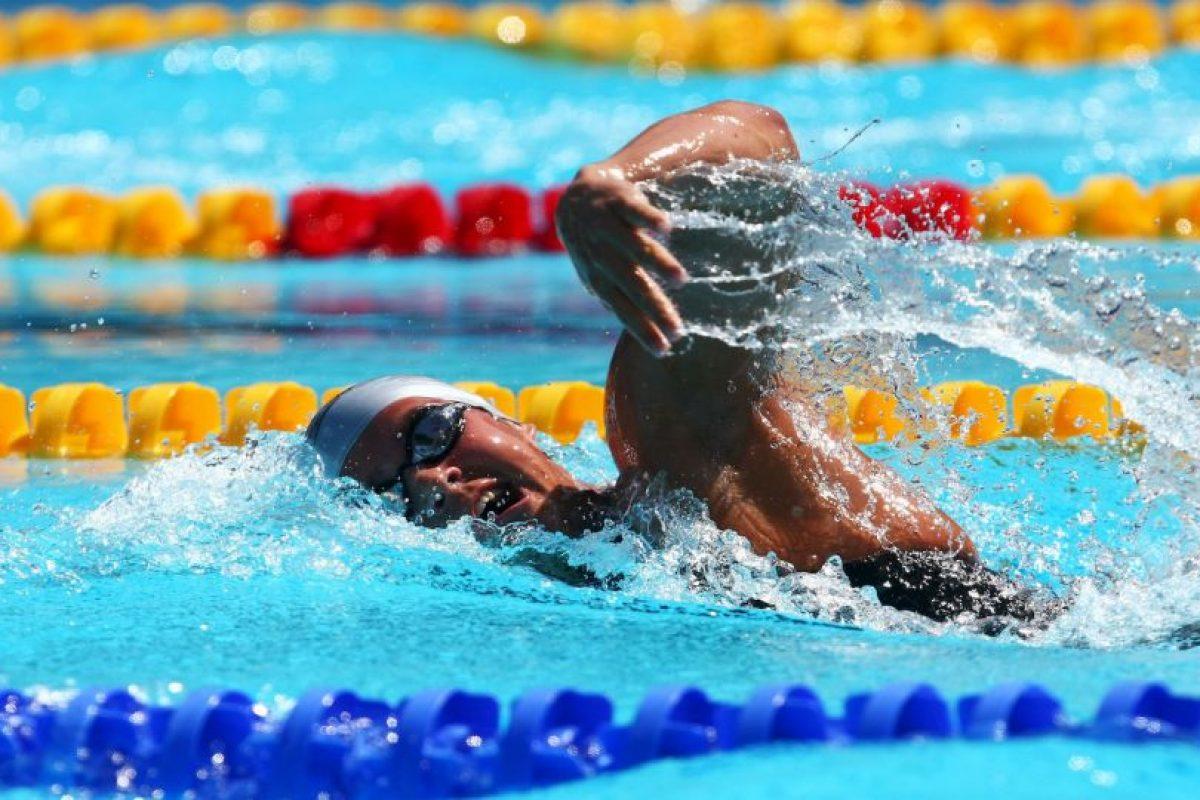 Participó en los Juegos Olímpicos de Londres 2012 en 400 metros libres. Foto:Getty Images. Imagen Por: