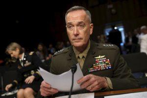 El general Josheph Dunford, aseguró que a pesar de los problemas que se tienen con el ISIS, Rusia es una amenaza para la seguridad nacional. Foto:AFP. Imagen Por:
