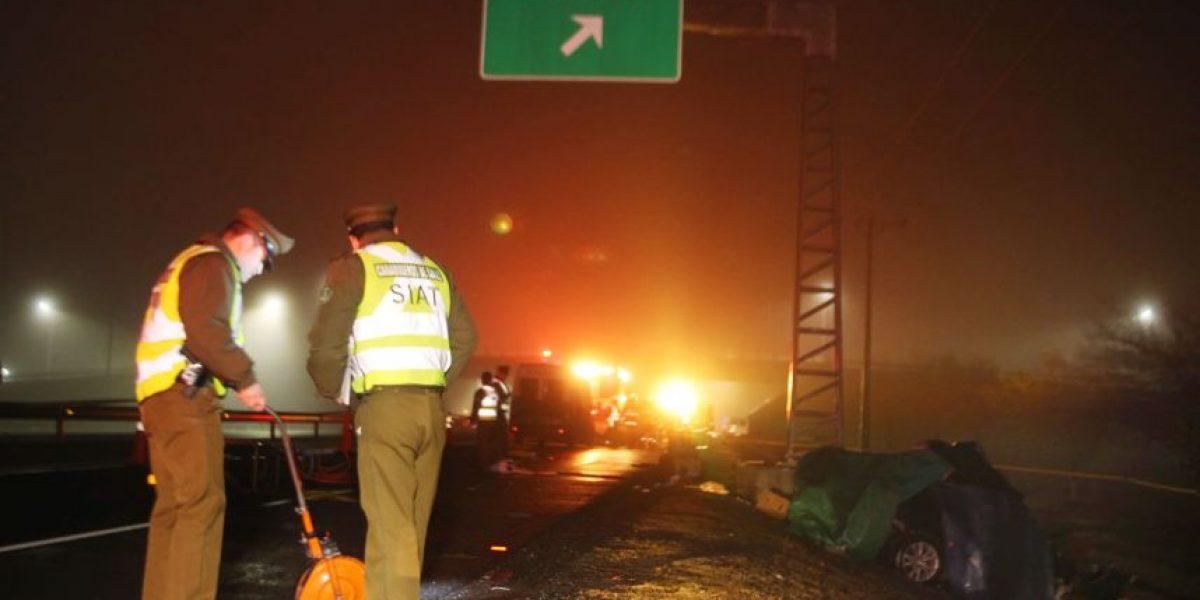 Volcamiento en Parral: número de víctimas sube a seis