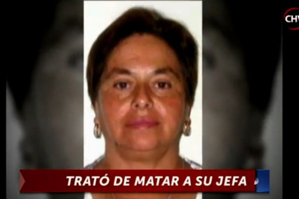 La mujer víctima Foto:Reproducción / Chilevisión. Imagen Por: