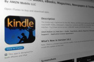 Kindle: Es la aplicación base de kindle de Amazon para leer libros. Compatible con la mayoría de los sistemas operativos, es gratuito. Foto:Gentileza. Imagen Por: