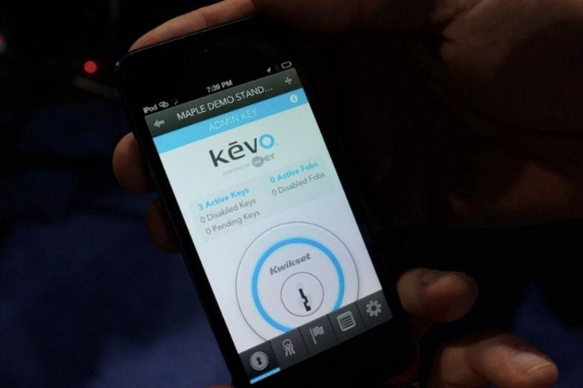 Kevo: Olvidate de las llaves dice kevo, quien transforma a tu celular en tu clave de acceso para entrar a tu casa u oficina, con un solo dedo. Foto:Gentileza. Imagen Por: