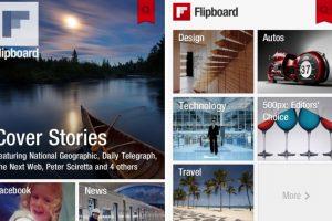 """Flipboard: Es un """"agregador"""" de noticias y redes sociales. Permite armar como una suerte de diario mural desde donde uno se puede enterar de todos sus intereses digitales sin tener que recurrir a otra pestaña. Disponible para Android, iOS y otros. Foto:Gentileza. Imagen Por:"""