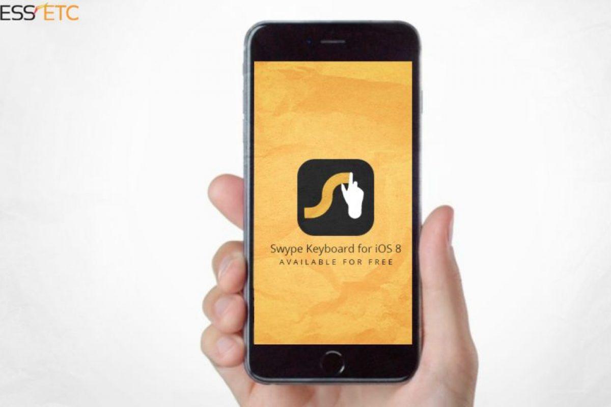 Swype: Sirve para poder tipear en el teclado digital del smartphone sin tener que tipear, solo basta con deslizar los dedos sobre la superficie o pantalla. Foto:Gentileza. Imagen Por: