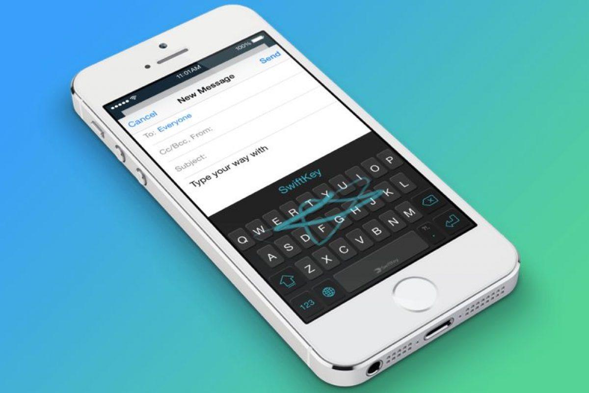 SwiftKey: Muy similar a Swype, pero con otras interfases. Muy util para quienes no desean estar tipendo constantemente. Foto:Gentileza. Imagen Por: