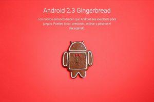 Android 2.3 Gingerbread Foto:Google. Imagen Por: