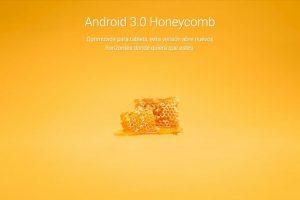 Android 3.0 Honeycomb Foto:Google. Imagen Por: