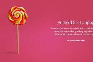 Android 5.0 Lollipop Foto:Google. Imagen Por: