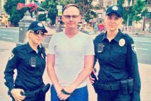En la capital de Ucrania se reemplazaron a más de dos mil policías Foto:Twitter.com/dimalugansk. Imagen Por: