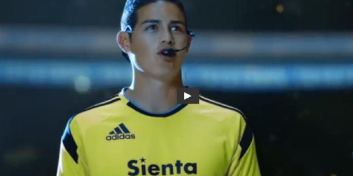 Estrella planetaria: mira el comercial que protagoniza James Rodríguez en Japón