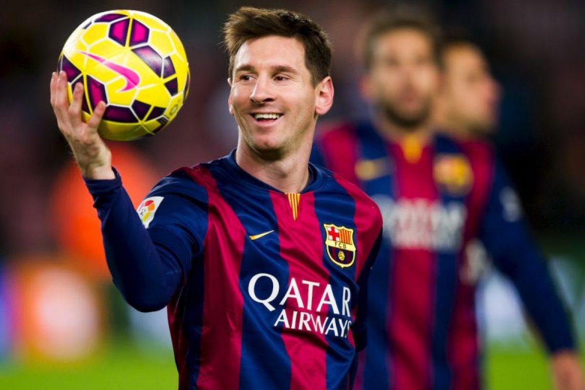 Lionel Messi es el mejor pagado del Barcelona y recibe un sueldo anual de 35 millones de euros. Foto:Getty Images. Imagen Por: